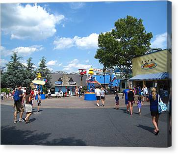 Hershey Park - 121245 Canvas Print by DC Photographer