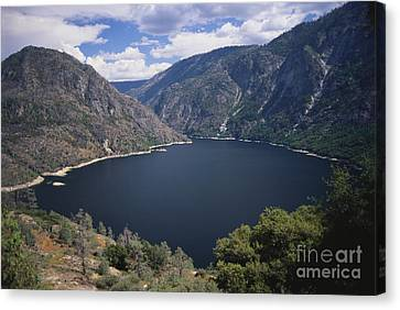 Hetch Hetchy Reservoir Canvas Print by Mark Newman