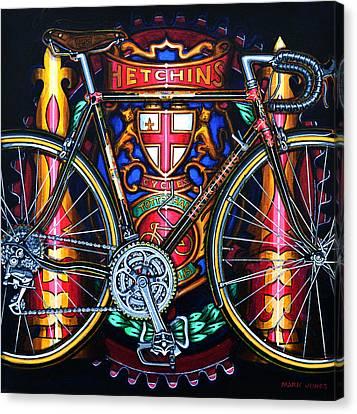 Hetchins Canvas Print by Mark Howard Jones