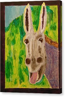 Hey Jack Canvas Print by Harold Greer