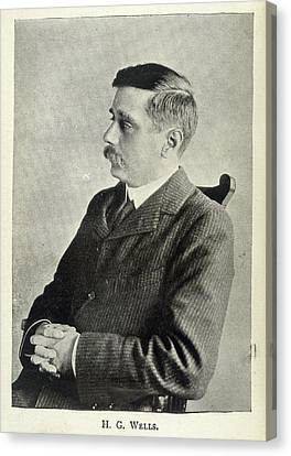 H.g.wells Canvas Print by British Library