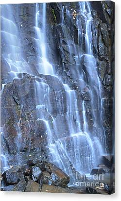 Hickory Nut Falls Chimney Rock State Park Nc Canvas Print by Dustin K Ryan