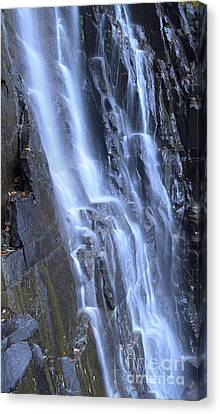Hickory Nut Falls Waterfall Nc Canvas Print by Dustin K Ryan