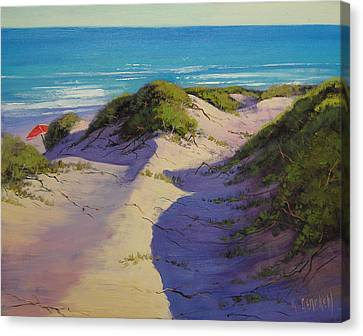 Hidden Dunes Canvas Print by Graham Gercken