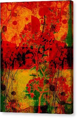 Hidden Garden Canvas Print by Ann Powell