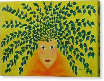 Hidden Identity  Canvas Print by Marianna Mills
