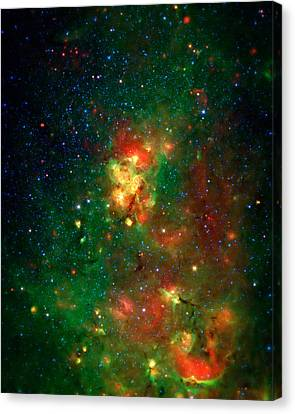 Hidden Nebula 2 Canvas Print by The  Vault - Jennifer Rondinelli Reilly