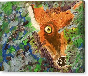 Hide And Seek Canvas Print by Harold Greer