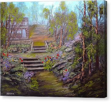 Hideaway Canvas Print by Michael Mrozik