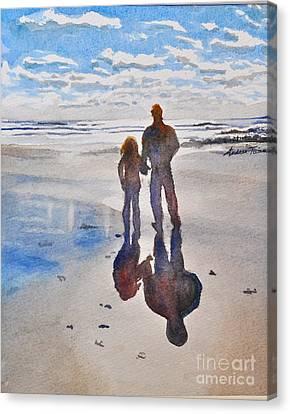 Higgins Beach Canvas Print by Andrea Timm