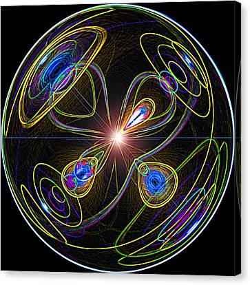 Higgs Boson Canvas Print by Samuel Sheats