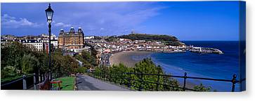 High Angle View Of A City, Scarborough Canvas Print by Panoramic Images