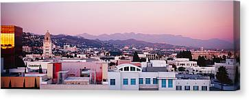 High Angle View Of A Cityscape, San Canvas Print by Panoramic Images