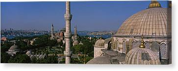 High Angle View Of A Mosque, St Canvas Print by Panoramic Images