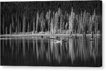 High Country Tranquility Canvas Print by Angie Vogel