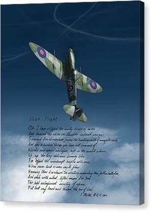 High Flight Canvas Print by Hangar B Productions