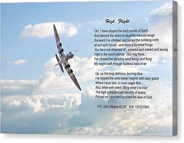 High Flight Canvas Print by Pat Speirs