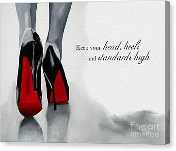 High Standards Canvas Print by Rebecca Jenkins