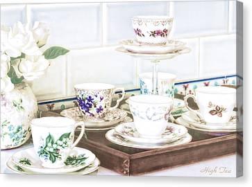 High Tea Canvas Print by Holly Kempe