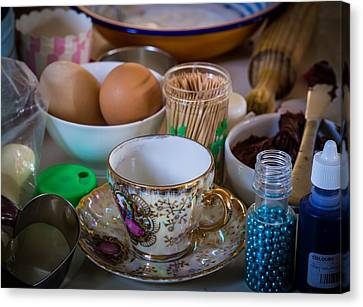 High Tea's Provenance Series Number Two Canvas Print by Kaleidoscopik Photography