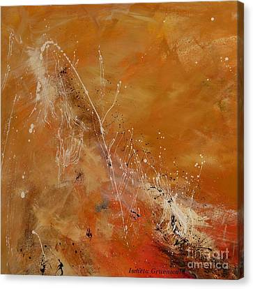 Highest Time 1  - Abstract Art Canvas Print by Ismeta Gruenwald