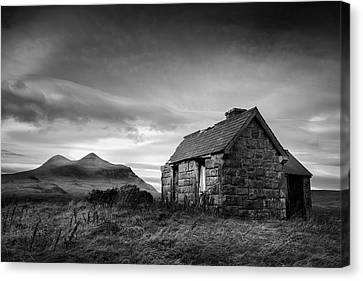 Highland Cottage 2 Canvas Print by Dave Bowman