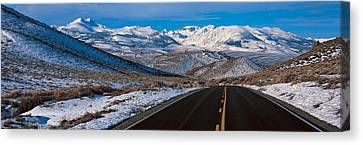 Highway Ca Usa Canvas Print by Panoramic Images