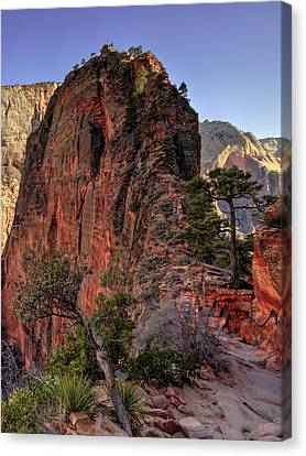 Hiking Angels Canvas Print by Chad Dutson