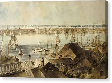 Hill, John William 1812-1879. View Canvas Print by Everett