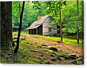 Hillbilly Heaven Canvas Print by Frozen in Time Fine Art Photography