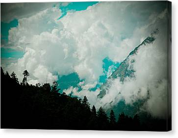 Himalayas Clouds  Canvas Print by Raimond Klavins