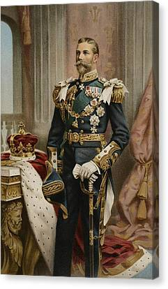 His Royal Highness The Prince Of Wales Canvas Print by Samuel Begg