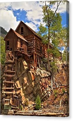 Historic Crystal Mill Canvas Print by Adam Jewell