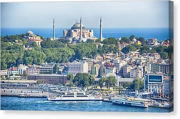 Historic Istanbul Canvas Print by Stephen Stookey