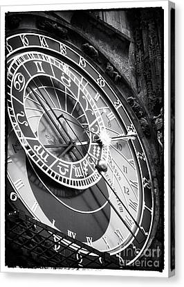 Historic Time Canvas Print by John Rizzuto