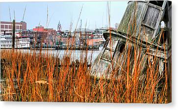 Historic Wilmington Canvas Print by JC Findley