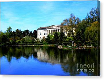 Buffalo History Museum Canvas Print by Kathleen Struckle