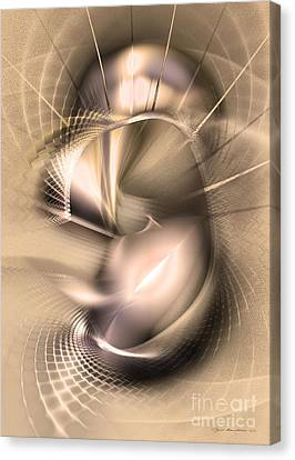 Hoc Omnis Est - Abstract Art Canvas Print by Sipo Liimatainen