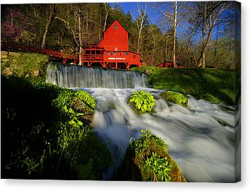 Hodgson Mill 3 Canvas Print by Kevin  Whitworth
