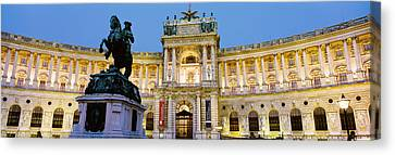 Hofburg Palace, Vienna, Austria Canvas Print by Panoramic Images