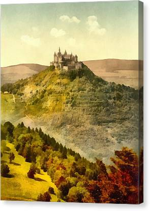 Hohenzollern Germany Castle Canvas Print by Dan Sproul
