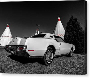 Holbrook Az - Wigwam Motel 009 Canvas Print by Lance Vaughn