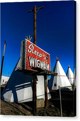 Holbrook Az - Wigwam Motel 015 Canvas Print by Lance Vaughn