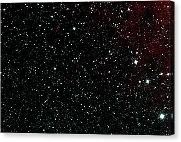 Holda Asteroid Canvas Print by Nasa/jpl-caltech