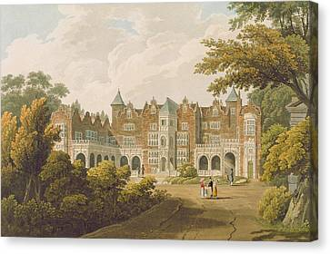 Holland House, The Seat Of The Right Canvas Print by J.C. Smith