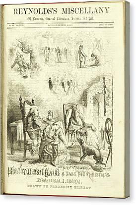 Holly Bush Hall Canvas Print by British Library