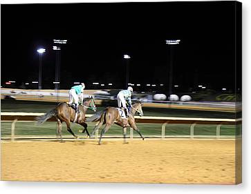 Hollywood Casino At Charles Town Races - 121218 Canvas Print by DC Photographer
