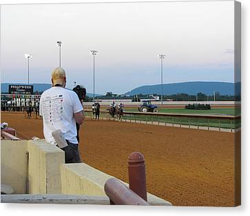 Hollywood Casino At Charles Town Races - 12128 Canvas Print by DC Photographer