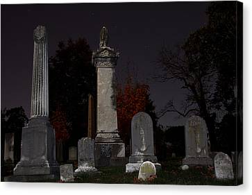 Hollywood Cemetery Canvas Print by Jemmy Archer