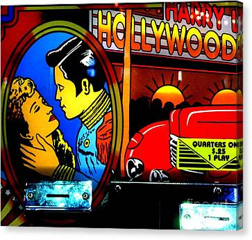 Hollywood Canvas Print by Newel Hunter